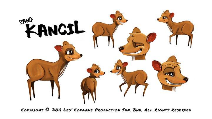 Satu lagi animasi kartun 3D dari Les' Copaque: Pada Zaman Dahulu